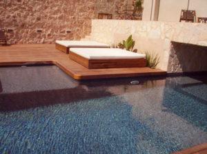 Trabajos madera Ibiza, Piscinas. Carpintería Gregori