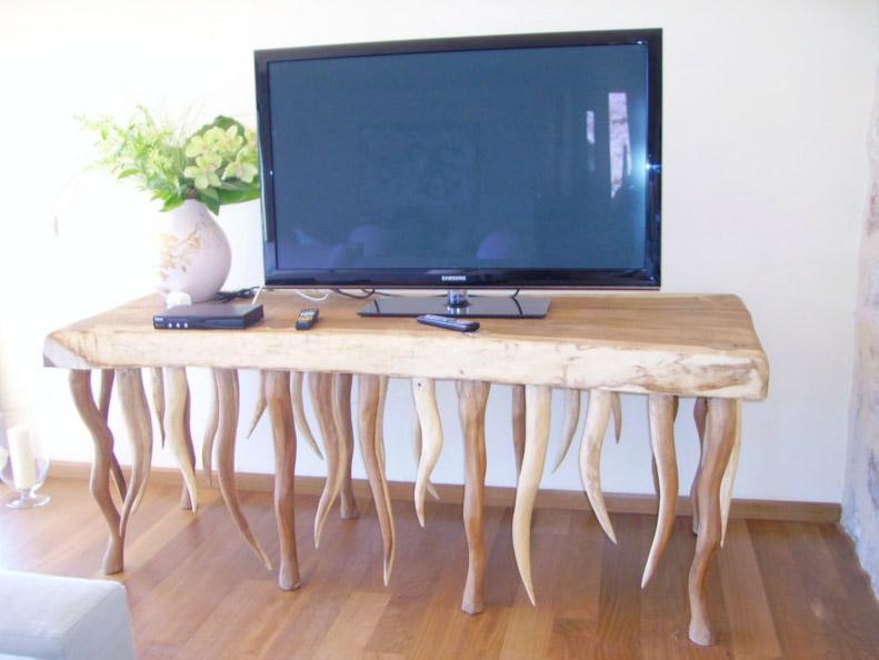 Muebles de madera en Ibiza