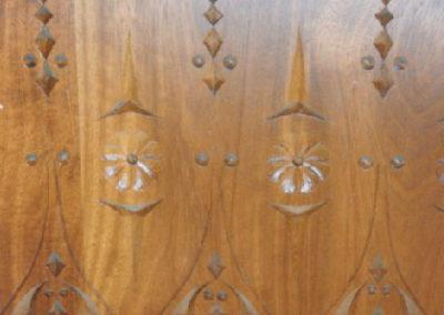 Carpintería Gregori / Entrada, puerta