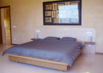 Carpintería Gregori / Dormitorio, cama