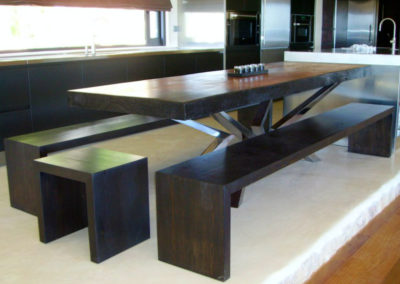 Carpintería Gregori / Comedor, mesa