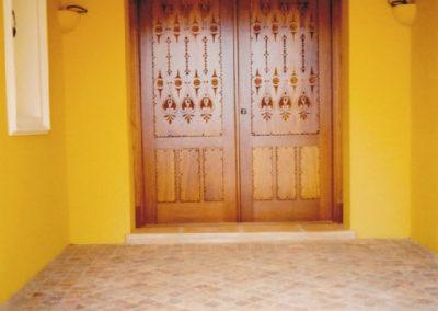 Carpintería Gregori / puertas de madera