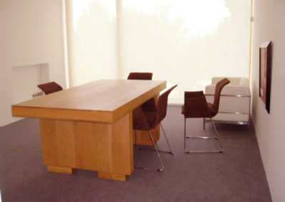Carpintería Gregori / despacho, mesa